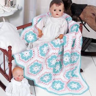 ePattern Blanket of Snowflakes