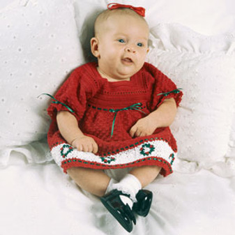 ePattern Baby's Christmas Dress
