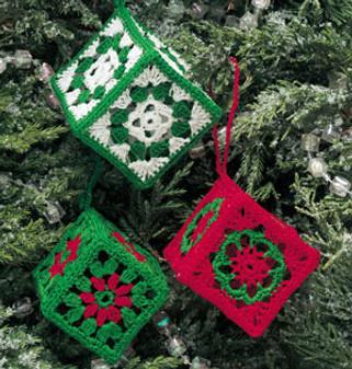 ePattern Granny's Christmas Cubes
