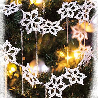 ePattern Let It Snow Garland