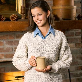 ePattern In-Vogue V-Neck Pullover