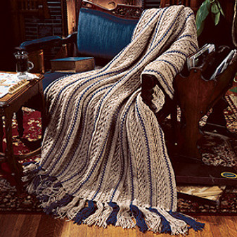ePattern Toasty Cables Afghan