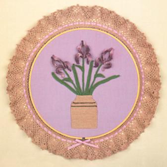 ePattern Floral Crochet Irises