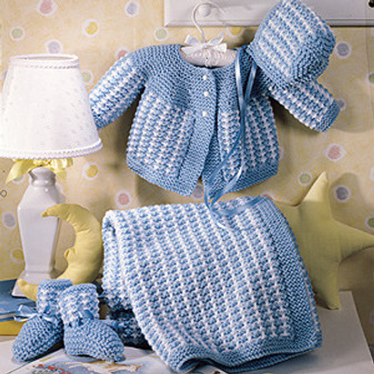 ePattern Precious Knitted Baby Layette