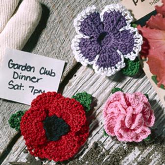 ePattern Fabulous Flowers Set 4