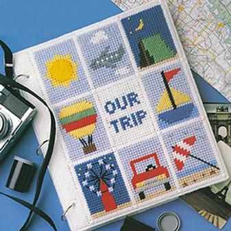 ePattern Vacation Memories in Plastic Canvas