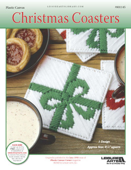 ePattern Christmas Coaster in Plastic Canvas