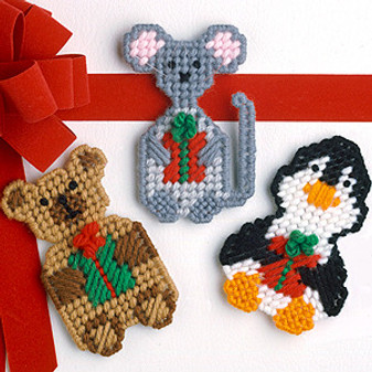 ePattern Christmas Critters in Plastic Canvas