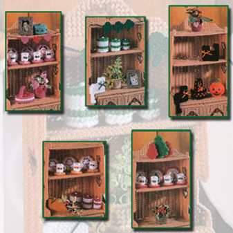 ePattern Holiday Hutch Accessories in Plastic Canvas