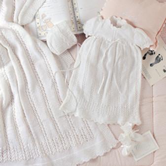 ePattern Aurora Layette to Knit
