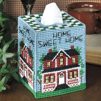 ePattern Home Sweet Home Tissue Box Cover