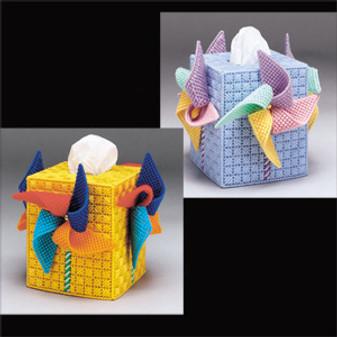 ePattern Pinwheel Tissue Box Cover