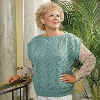 ePattern Lace Stitch Pullover