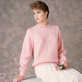 ePattern Ladies' Rose Pullover