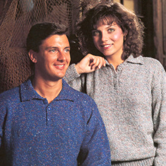 ePattern For Him And Her Pullovers