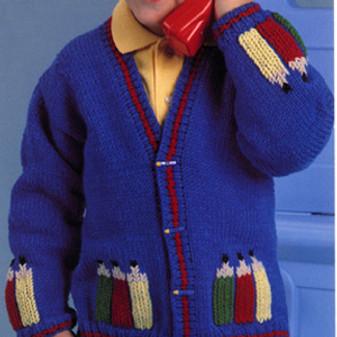 ePattern Pencils Sweater