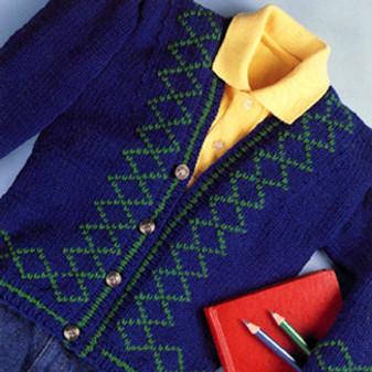 ePattern Argyle Sweater