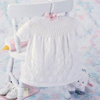 ePattern Snow Forest Baby Dress