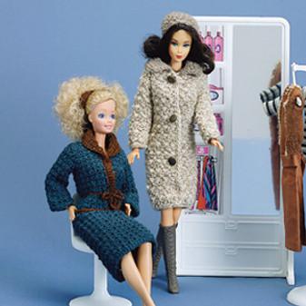ePattern Fashion Doll Winter Outfits