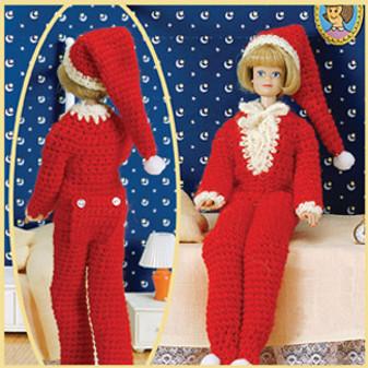 ePattern Fashion Doll Sleepwear