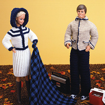 ePattern Fashion Doll His & Hers Fall Outfits