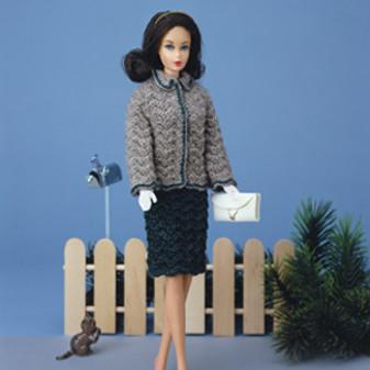ePattern Fashion Doll Ripple Suit