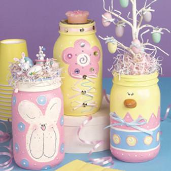 ePattern Easter Jars