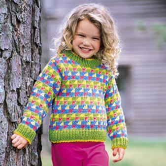 ePattern Jazzy Stripes Pullover