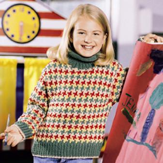 ePattern Dappled Pullover
