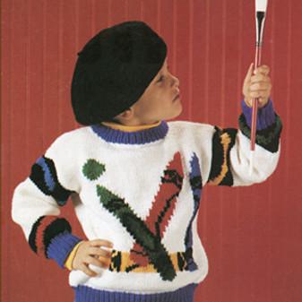 ePattern Crayons Sweater