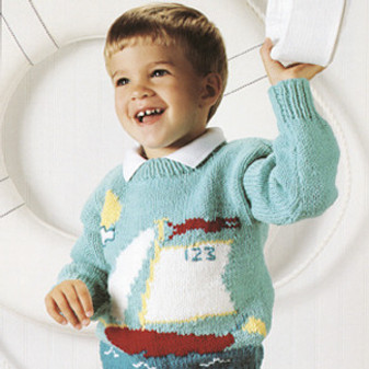 ePattern Sailboat Sweater