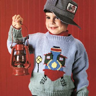 ePattern Train Sweater