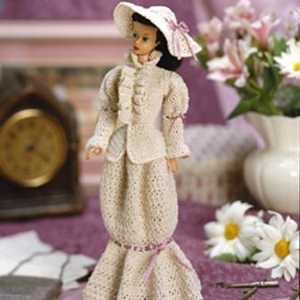 ePattern Victorian Ensemble for Fashion Dolls