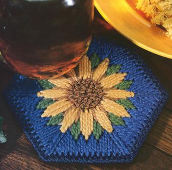 ePattern Sunflower Coaster