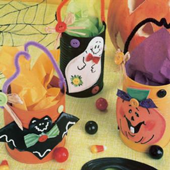 ePattern Spooky Treat Cans