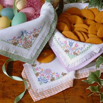 ePattern Bunny Bread Cloths