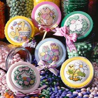 ePattern Easter Jar Lids