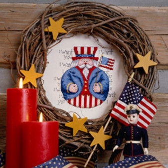 ePattern Roly-Poly Uncle Sam