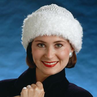 ePattern Fur Brim Hat