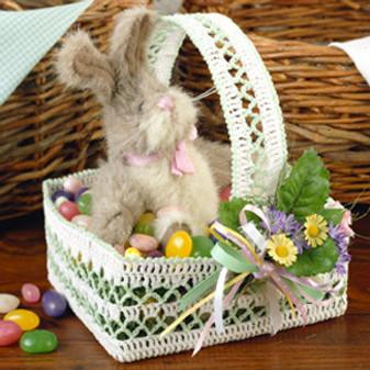 ePattern Lacy Easter Basket