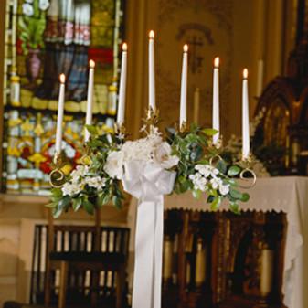 ePattern Wedding Candleabra Spray