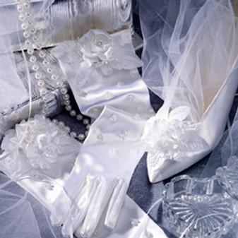 ePattern Radiance Wedding: Bride's Shoes & Gloves