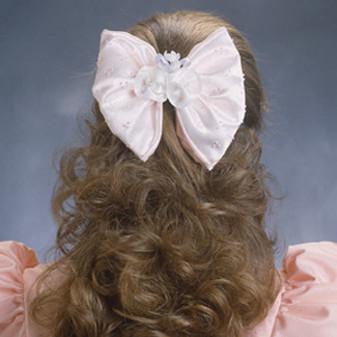 ePattern Ribbon Fantasy Wedding: Bridesmaid's Hair Bow