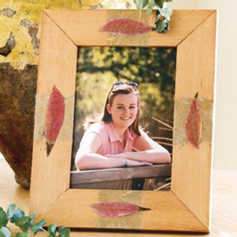 ePattern Botanical Photo Frame