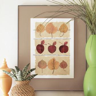ePattern Framed Leaf Collages