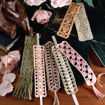 ePattern 7 Crocheted Bookmarks