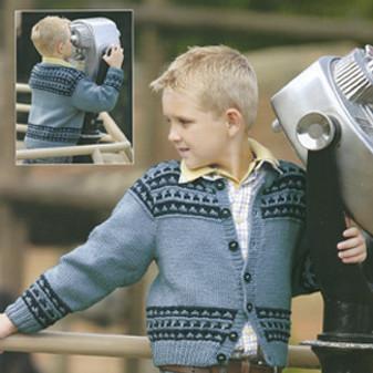 ePattern Nordic Stripe Cardigan