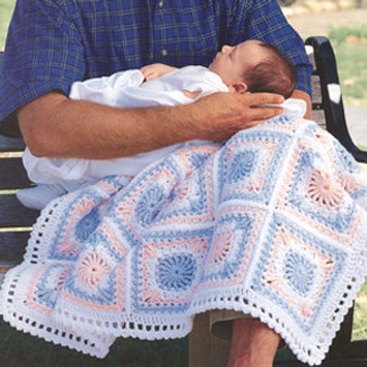 ePattern Cuddletime Baby Afghan
