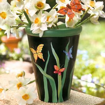 ePattern Butterfly Pot