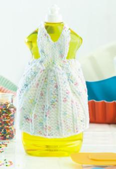 ePattern Princess for a Day Dishcloth Dress